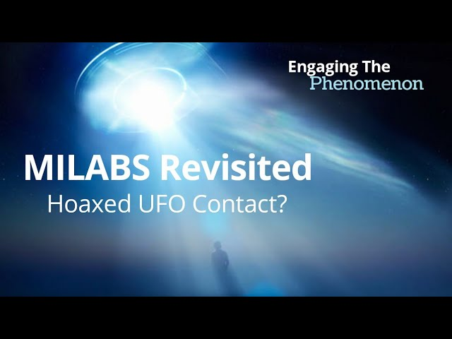 MILABS Revisited: Hoaxed UFO Contact?