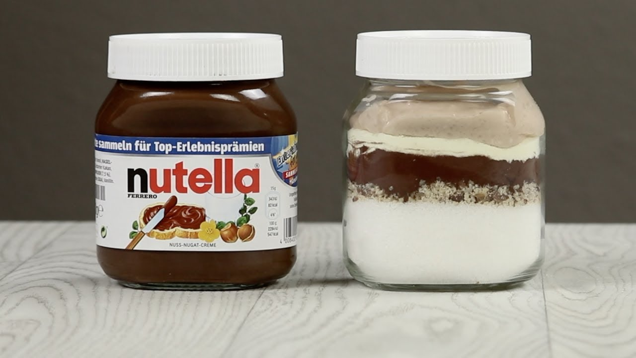 These are the ingredients in a jar of Nutella - YouTube