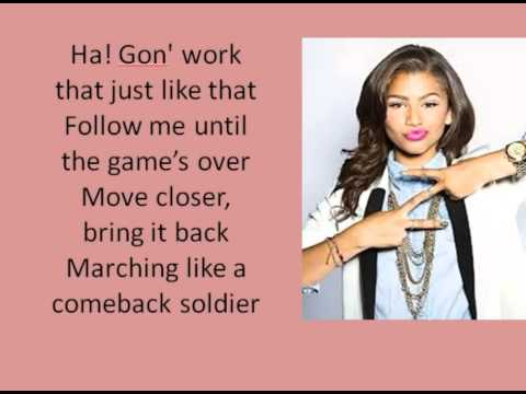 Zendaya - Beat Of My Drum - Lyrics