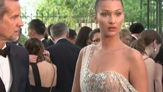 Stars arrive for amfAR gala in Cannes