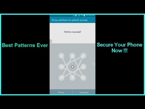 Best Android Lock Screen Pattern Ever - Secure Your Phone Now !!!