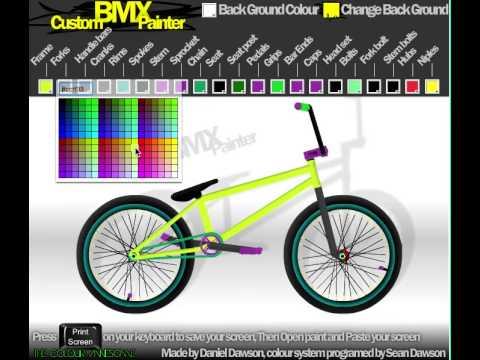 Juego de BMX Custom BMX Painter Gratis Online - YouTube