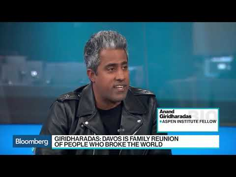 Anand Giridharadas interview on Bloomberg