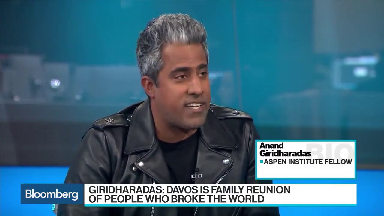 The Lie of the American Dream: Anand Giridharadas interview on Bloomberg