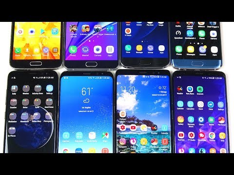 All My Samsung Phones Collection!