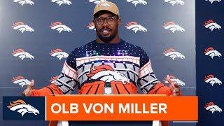 Von Miller: Franchise sack record 'a great accomplishment'