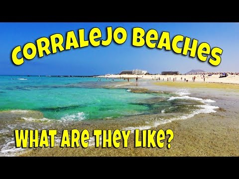 Corralejo Beaches | Best Beaches in Fuerteventura | Corralejo Dunes Beach