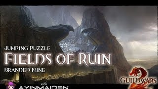 ★ Guild Wars 2 ★ - Jumping Puzzle - Fields of Ruin (Branded Mine)