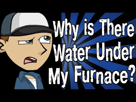 Why is There Water Under My Furnace? - YouTube