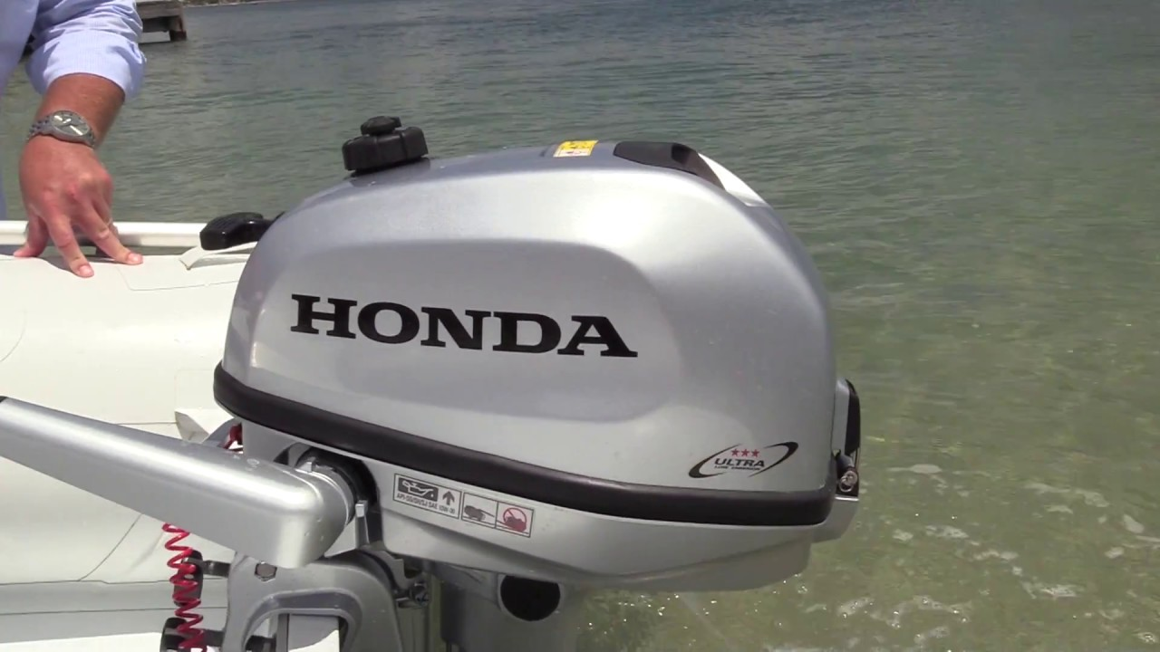 Honda Launches new 4HP 5HP and 6HP outboards