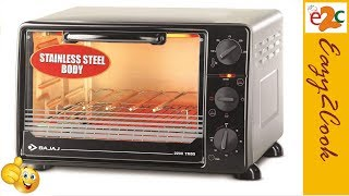 Introducing 22 Ltr. Bajaj Oven 2200TMSS | How to use Oven