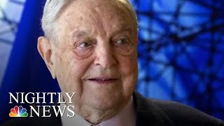 George Soros' N.Y. Home Targeted With Explosive Device, Authorities Say | NBC Nightly News