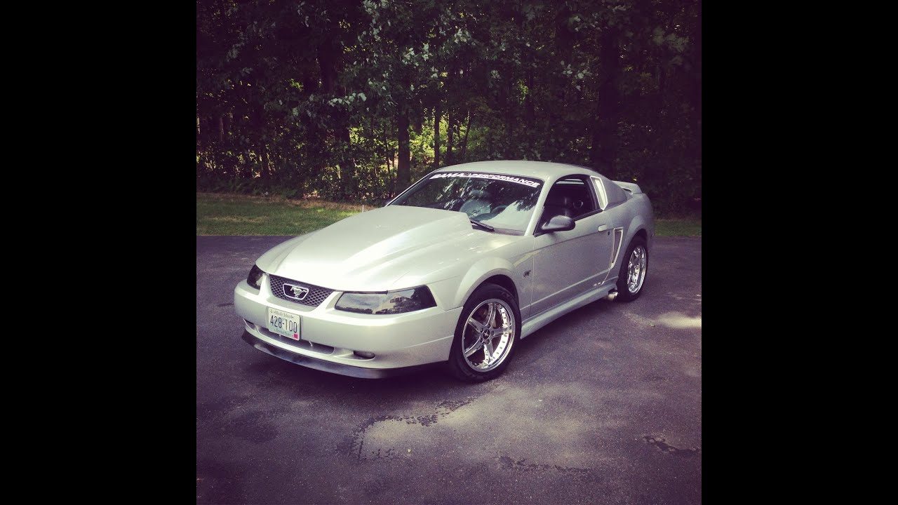 2000 Mustang GT O/R X Pipe and Glasspack Side Exhaust ...