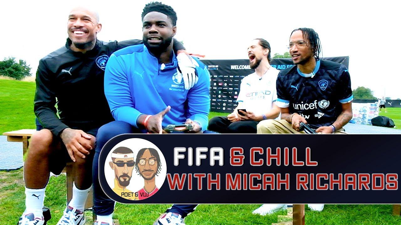 Micah Richards - Punditry, Back Offs & Roy Keane Bromance   Fifa & Chill