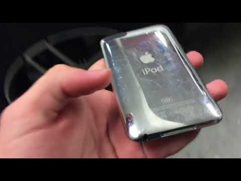 iPod Touch 3rd Generation drop test