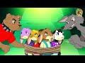 الذئب والخراف السبعة في المزرعة | الحلقة 1 مغامرات KONDOSAN قصة رسوم متحركة  فيلم كرتون