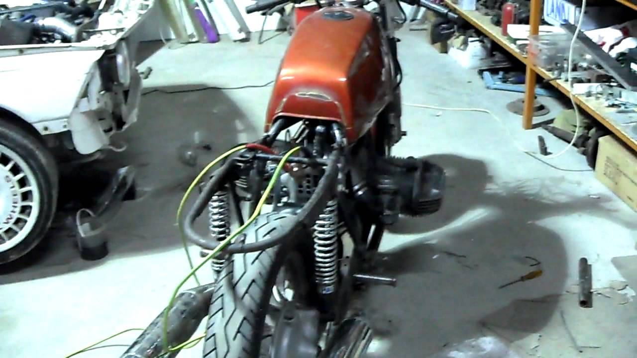 bmw r45 running cafe racer project youtube. Black Bedroom Furniture Sets. Home Design Ideas
