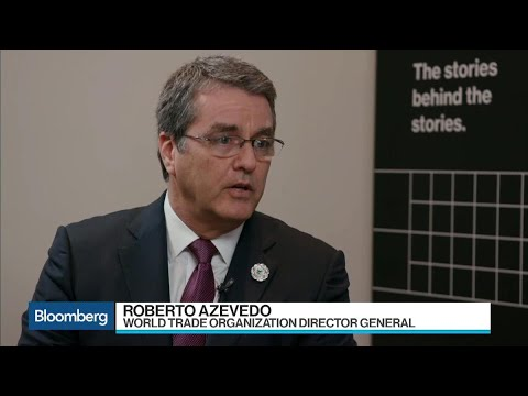 WTO's Azevedo on Trump, Trade and Brexit Deals