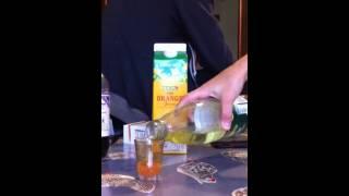 Sour Orang Blast (non-alchoholic Cocktail)