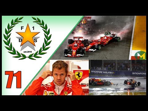 WAS MAX TO BLAME?! 2017 SINGAPORE GP START DISCUSSION - F1 Debate Show EPISODE 71
