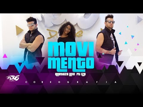 Aretuza Lovi - Movimento ft IZA -  Move Dance - Coreografia
