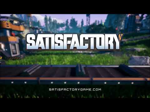 What is SATISFACTORY? - Machines, Aliens and Trains?!