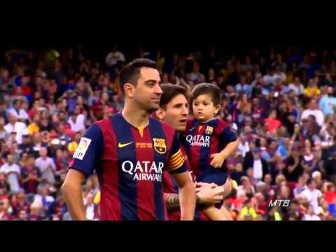 Лионель Месси и его сын  очень трогательное видео