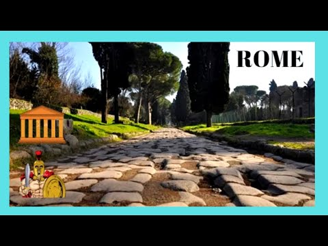 ROME, historic road VIA APPIA ANTICA (APPIAN WAY), the highway of the legions, ITALY