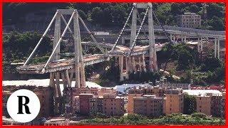 Genova, gli ultimi giorni del ponte Morandi: i preparativi a pochi giorni dall'esplosione