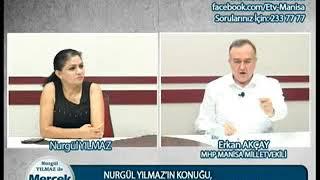 Nurgül Yılmaz ile Mercek Altı   MHP Manisa Milletvekili Erkan Akçay