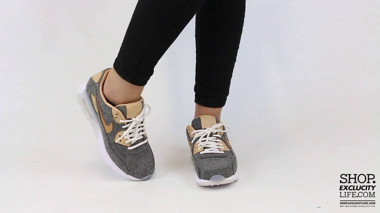 new styles 6ff4c 944aa Women s Air Max 90 Ultra Vachetta Tan On feet Video at Exclucity