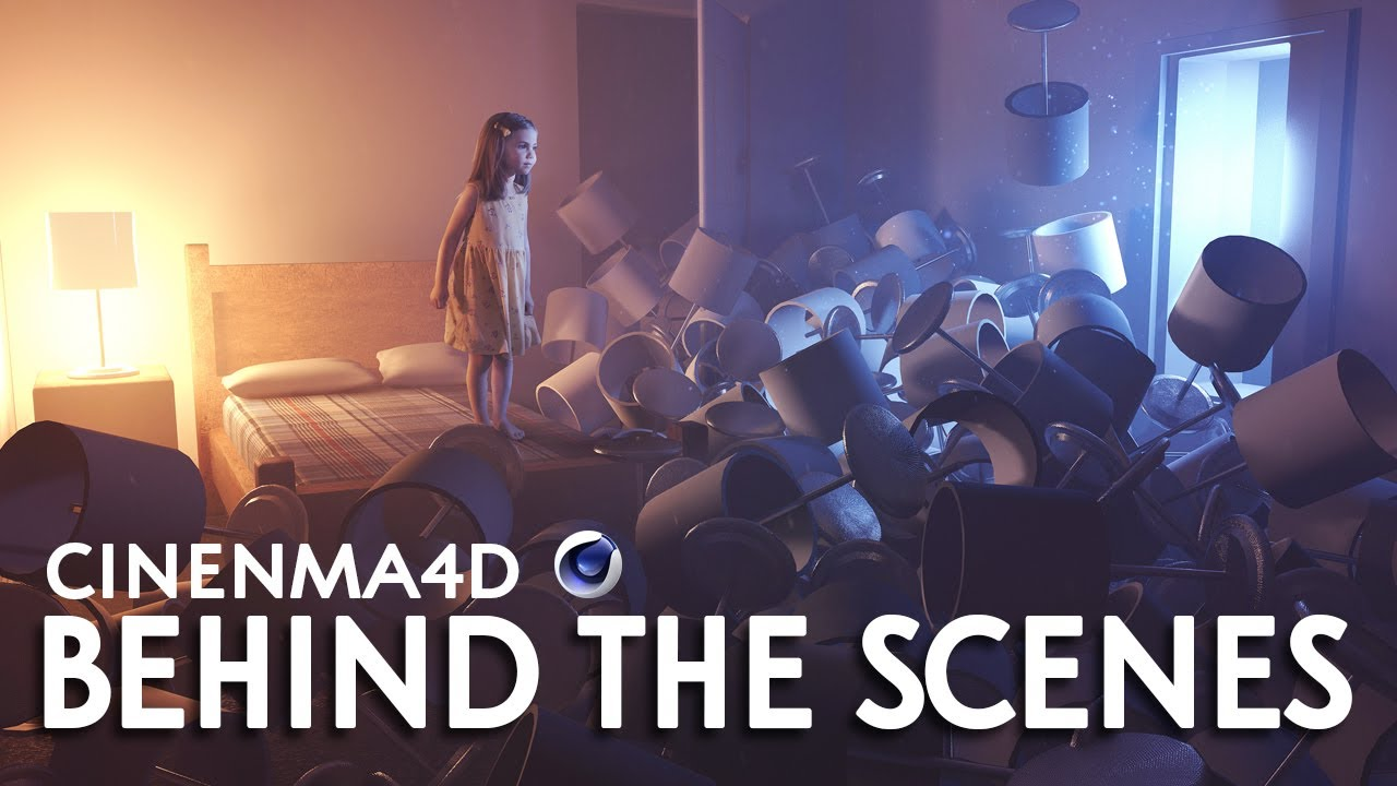 Cinema4D Behind the Scenes - Lamp Problem