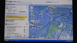 VIDEO: Google Now Has Bike Routes on Maps Page  3-10-10 Free HD Video