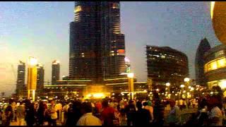 Burj Khalifa - Dubai - Emirados Árabes -  o prédio mais alto do mundo, lindo demais ...
