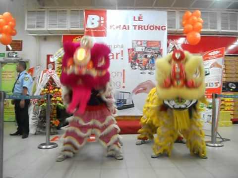 Lion Dance Viet Nam _ Đoàn lân sư rồng Bạch Ngọc Đường _ Huế ( 0909309446 ) B-bar