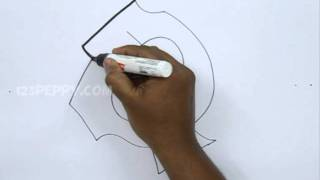 How to Draw Graffiti Letter Q