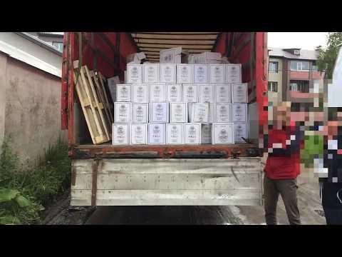 В г. Нелидово Тверской области пресечена незаконная перевозка алкогольной продукции