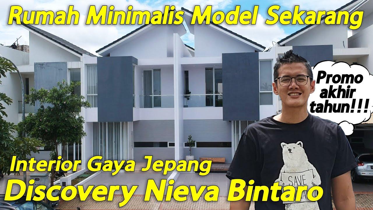 Rumah Minimalis Model Sekarang Dengan Interior Gaya Jepang, Discovery Nieva Bintaro
