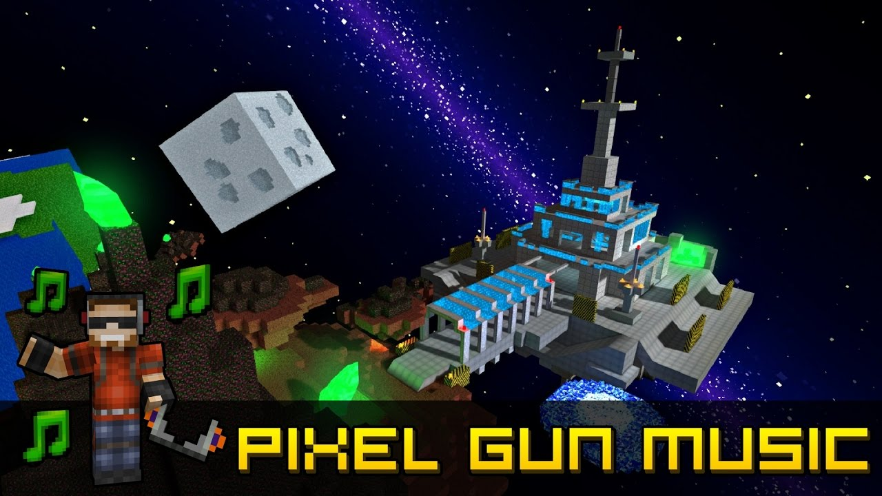 Space Station - Pixel Gun 3D Soundtrack - YouTube