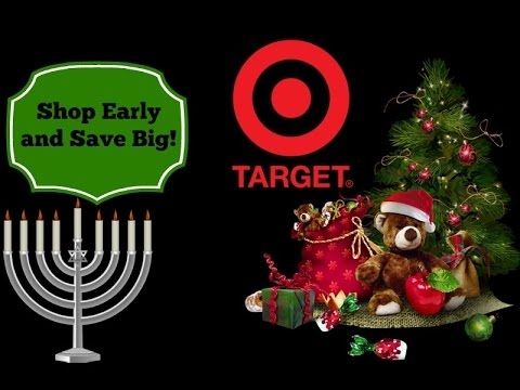 Shop Early to save 70% on Holiday Gifts at Target!