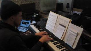 ahmad back in the day piano cover