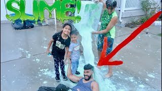 SLIME PRANK ON MY FAMILY BACKFIRED!!!