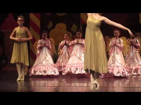 Philadelphia Dance Academy - Nutcracker 2015 - Angels scene