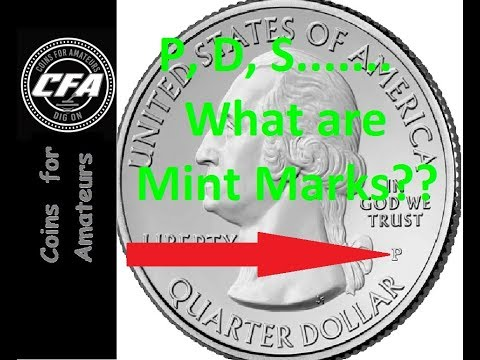 Coins- US Mint Marks