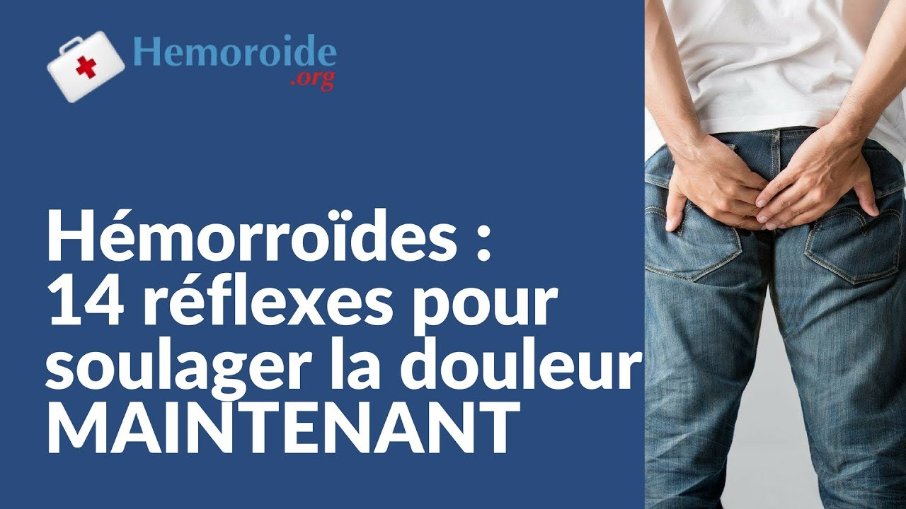 soulager rapidement hemoroide
