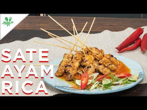 Resep Sate Ayam Rica