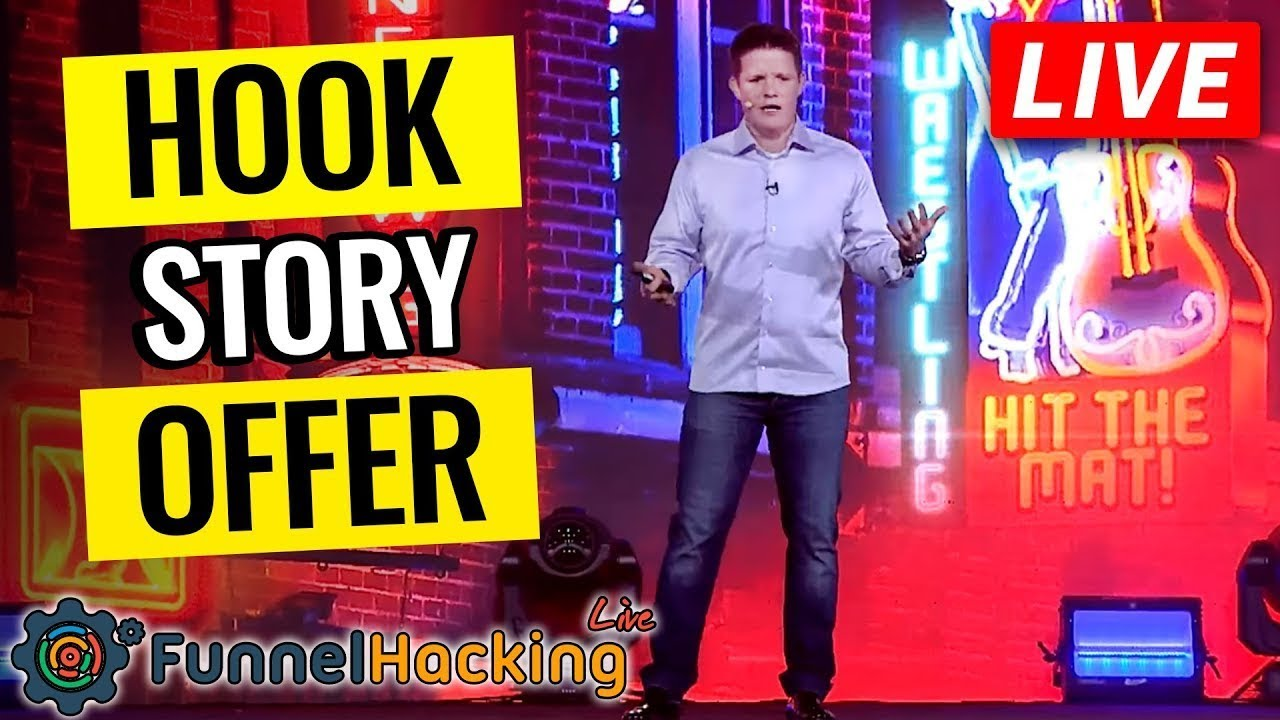 How To Sell Anything To Anyone - Funnel Hacking LIVE Stream!  2019