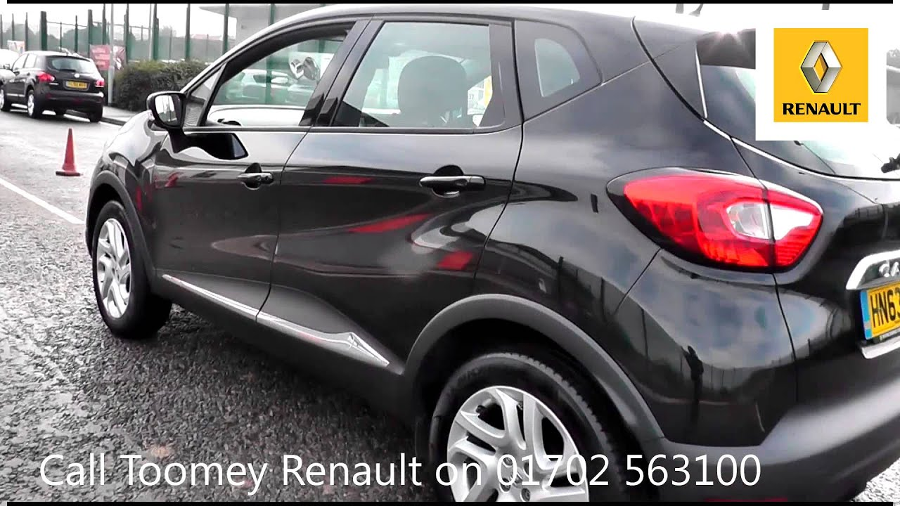 2013 Renault Captur Dynamique MediaNav 0.9l Black HN63LRA ...