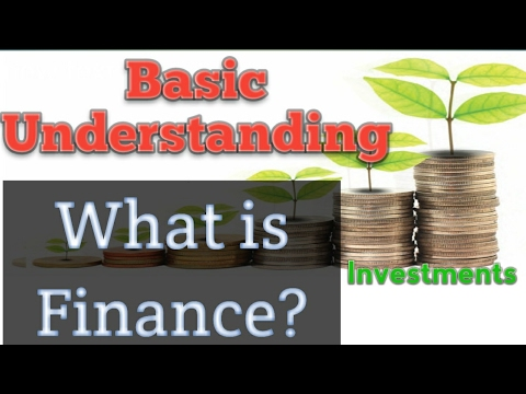 What is FINANCE? BASICS of FINANCE with Simple and Practical Examples in Hindi