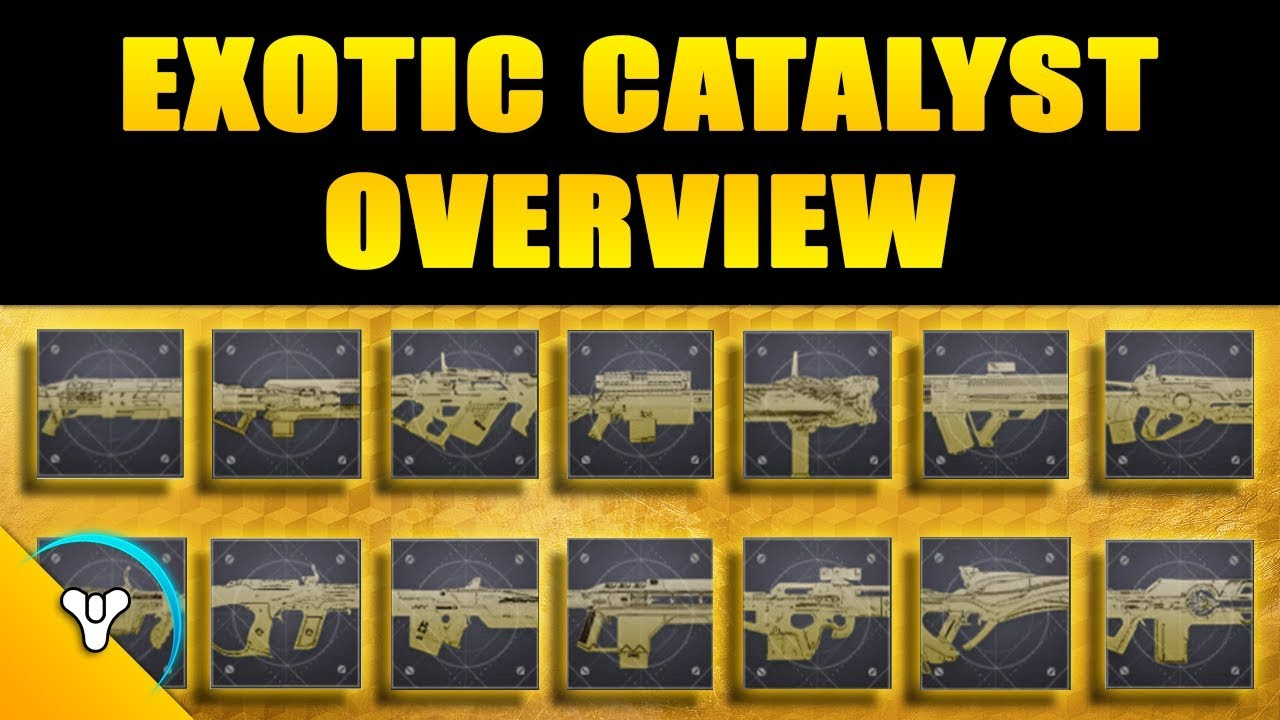 Destiny 2: Exotic Weapon Catalysts – Kyber's Corner
